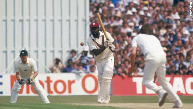 Viv Richards won two World Cups with the West Indies and enjoyed a stellar Test match career.