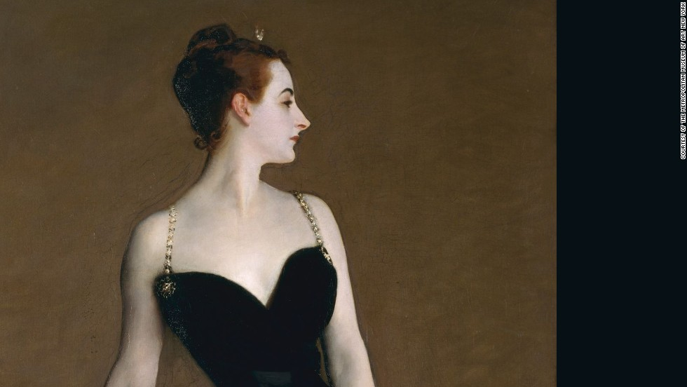 "<em>Madame X (1883-84), John Singer Sargent</em><br /><br />It's difficult to believe that John Singer Sargent's fully-clothed ""Madame X"" ever scandalized. But when it was first seen, viewers objected to the deathly pale skin (too morbid), the bare decolletage and perceived skimpiness of her outfit (the original had one fallen strap, which was later repainted), and the fact that the subject, Virginie Amélie Avegno Gautreau, was a well known socialite at the time. Instead of altering the image to hide Gautreau's identity, Sargent painted her exactly as she was. <br /><br />Since then, public sensibilities and attitudes towards success have progressed to the point where these works have for most lost the ability to provoke outrage."