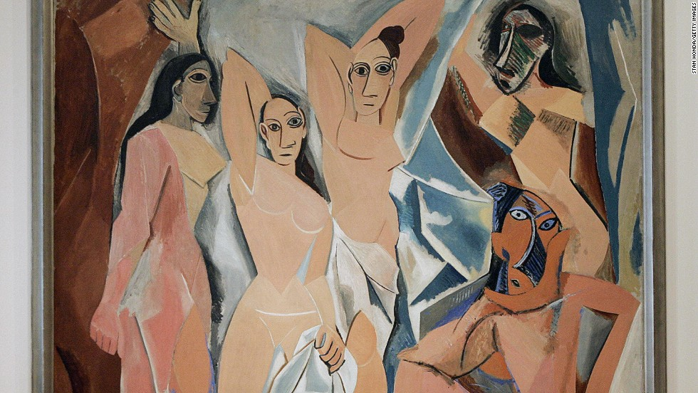 "<em>Les demoiselles d'Avignon (1907), Pablo Picasso </em><br /><br />Almost 50 years later, Picasso's ""Les demoiselles d'Avignon,"" which depicted prostitutes on display in a Barcelona brothel in his then-radical pre-Cubist style, was seen as outrageous and obscene for the same reasons. The idea of a woman brazenly showing off her sexuality in such a way was still unthinkable.<br /><br />""Female sexuality causes problems still today, surprisingly. It's just another side of sexist culture,"" says Kokoli."
