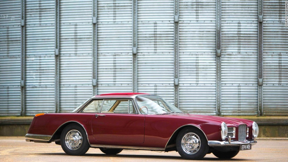 "Pop history mingled with classic car glamor when Ringo Starr's Facel went for a cool $554,000. The Beatles drummer  bought the Facel Vegal ""Facel II"" - once dubbed ""the world's fastest four-seater"" in 1964."