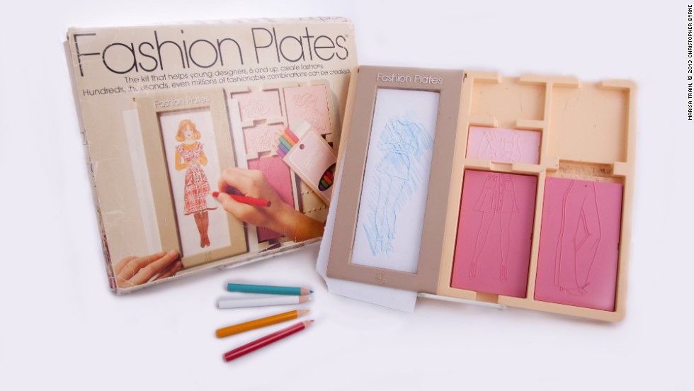 "Fashion Plates is another example of a toy that reflected broader cultural trends, with fashion designers in the 1970s becoming household names, Byrne writes in ""Toy Time."" It also tapped into a common trend in arts and crafts toys that allowed children ""who might not be gifted artists to create a professional-looking result,"" Byrne writes."