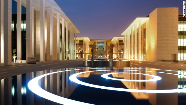 The thoroughly modern campus of Princess Nora bint Abdulrahman University in Saudi Arabia designed by Perkins + Will.