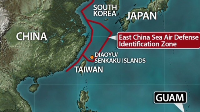 Beijing and Tokyo dispute over islands