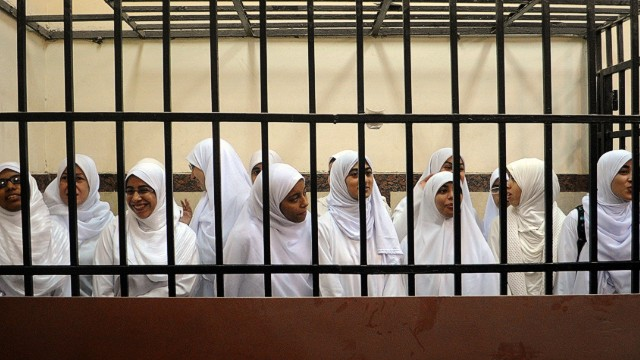 Egypt imprisons more protesters