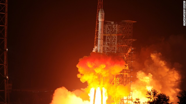 The Chang'e-3 rocket carrying the Jade Rabbit rover blasts off, from the Xichang Satellite Launch Center in the southwest province of Sichuan, China, on December 2.