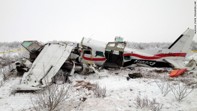 Woman loses baby in Alaskan plane crash