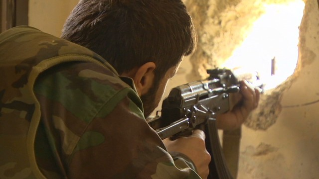 Inside the battle for Damascus