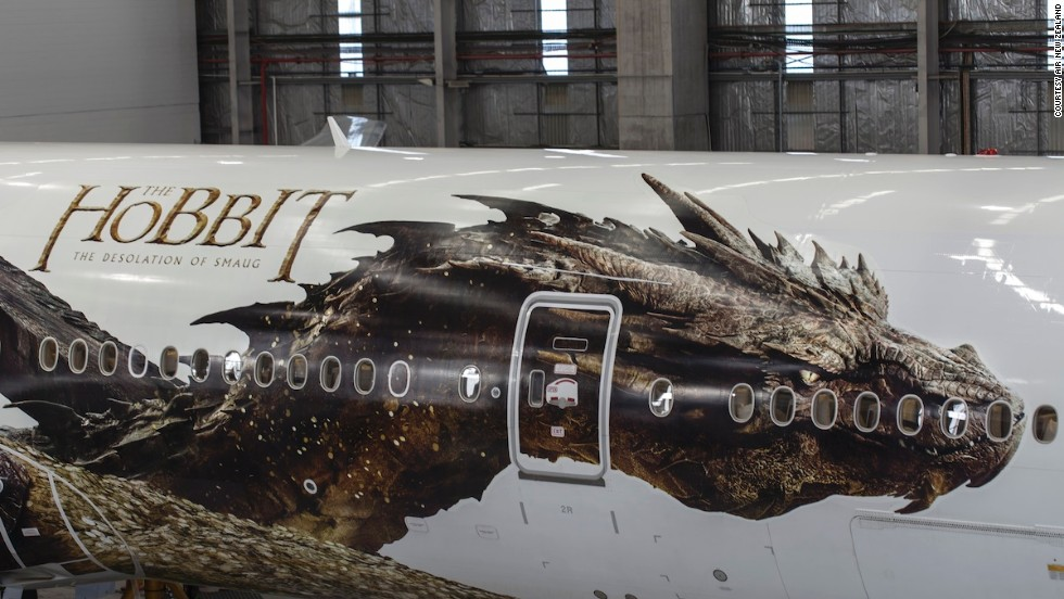 """To see Smaug fly off the big screen and into the skies like this is pretty exciting,"" said director Peter Jackson in a statement. ""We're proud to debut him here in New Zealand, where our team has worked so hard to bring him to life."""