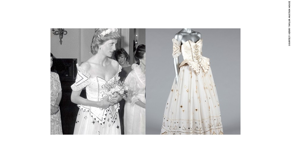 One Of Princess Diana39s Most Fantasy Like Dresses Will Be Auctioned