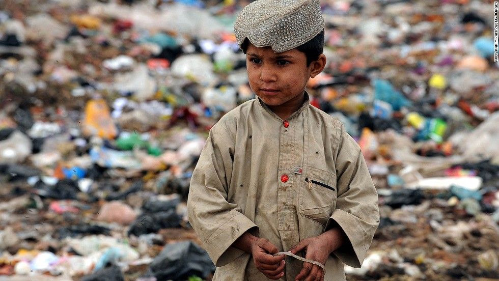 "Afghanistan, North Korea and Somalia are seen as the most corrupt nations in the world, according to <a href=""http://cpi.transparency.org/cpi2013/results/"" target=""_blank"">Transparency International's latest survey</a>. Pictured here, a young Afghan garbage collector looks on from a landfill in Herat on November 15, 2012."