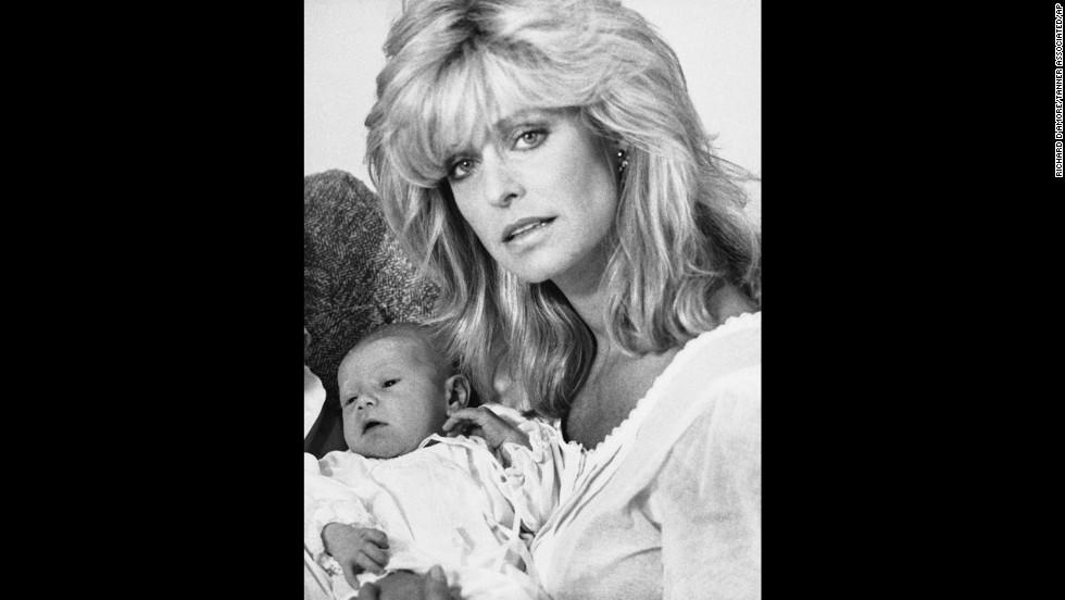 Fawcett and O'Neal's son, Redmond, was born January 30, 1985, in Los Angeles.