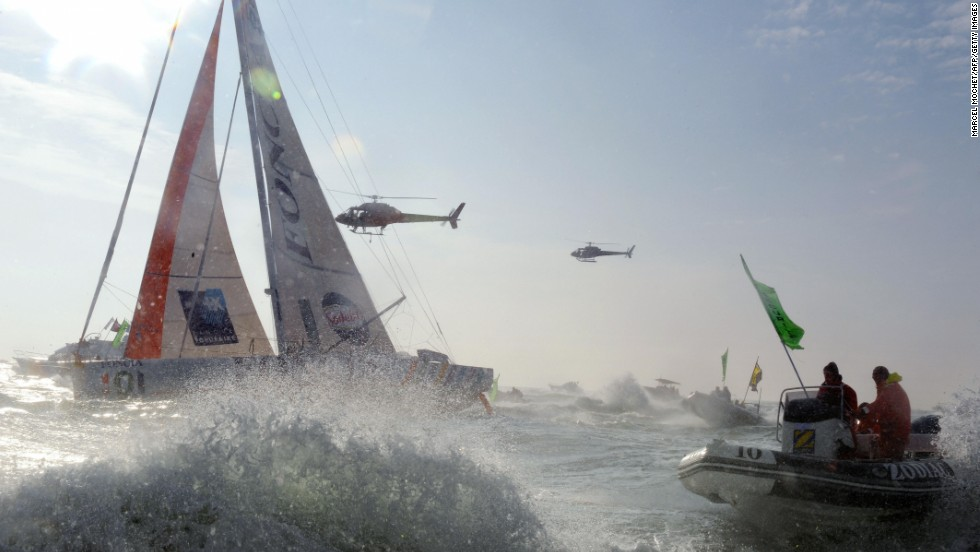 In February 2009, Michel Desjoyeaux became the first -- and still only -- man to twice win the Vendee Globe, considered by many the pinnacle of ocean racing.