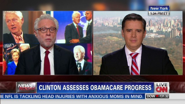 Bill Clinton on Obamacare Progress