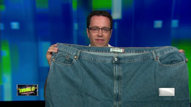 2013: Jared Fogle and his 'fat jeans'