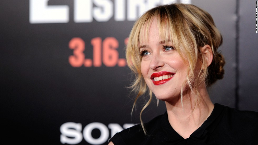 "Dakota Johnson's casting as naive student Anastasia Steele was controversial, but the actress has said that she really ""understands"" E.L. James' sensual trilogy. ""I think it's an incredible love story,"" she told <a href=""http://insidemovies.ew.com/2013/11/16/dakota-johnson-fifty-shades/"" target=""_blank"">Entertainment Weekly</a>. The 24-year-old, the daughter of Don Johnson and Melanie Griffith, has appeared in ""The Social Network,"" ""21 Jump Street"" and the short-lived sitcom ""Ben and Kate."""