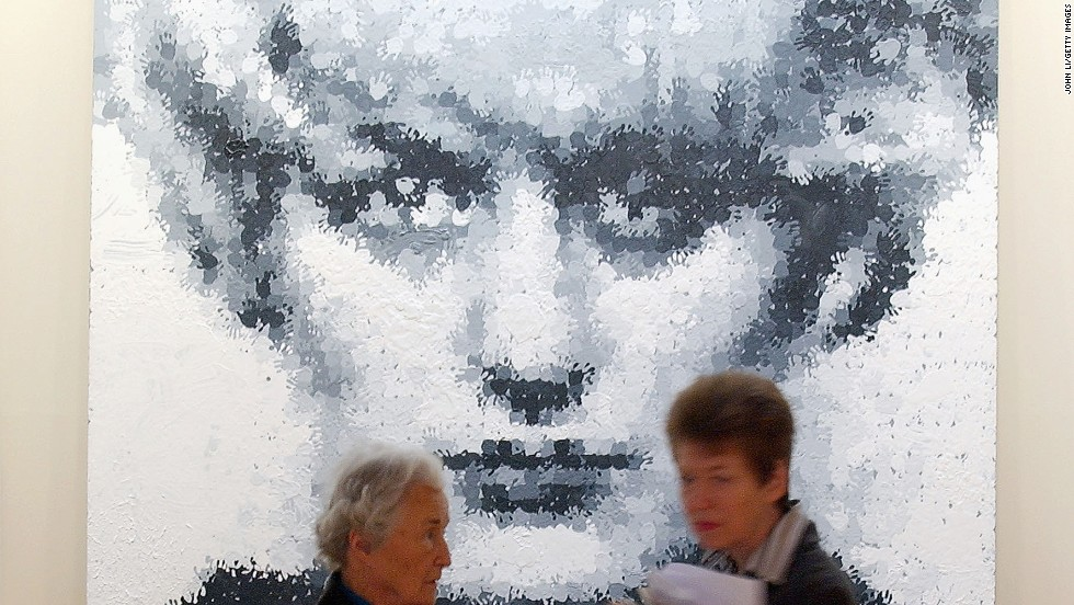 "<em>Myra (1995), Marcus Harvey</em><br /><br />Marcus Harvey's 1995 portrait of child murderer Myra Hindley caused a stir when it was exhibited at the Royal Academy of Art in London in 1997. The portrait, made up of a child's handprints, created an uncomfortable juxtaposition between Hindley's crimes and the innocence associated with youth.  <br /><br />Protesters threw eggs and ink at it on the first day of the exhibition (aptly titled ""Sensation""), and Hindley herself wrote a letter from prison imploring organizers to remove it from the exhibition because it showed ""a sole disregard not only for the emotional pain and trauma that would inevitably be experienced by the families of the Moors victims but also the families of any child victim."""