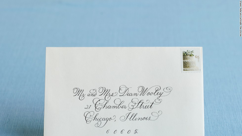 How to Address Wedding Invitations - Real Simple
