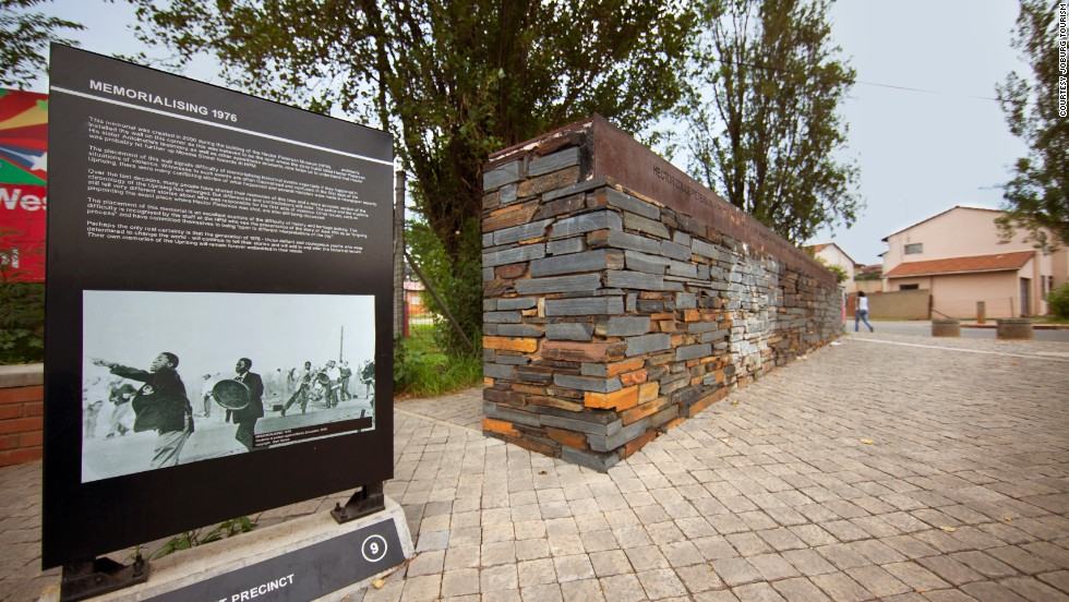 You can learn about Soweto's past as a centre of resistance at the Hector Pieterson memorial and museum off Vilakazi Street, named after a 12-year-old boy who was shot dead by police during a student protest in 1976.