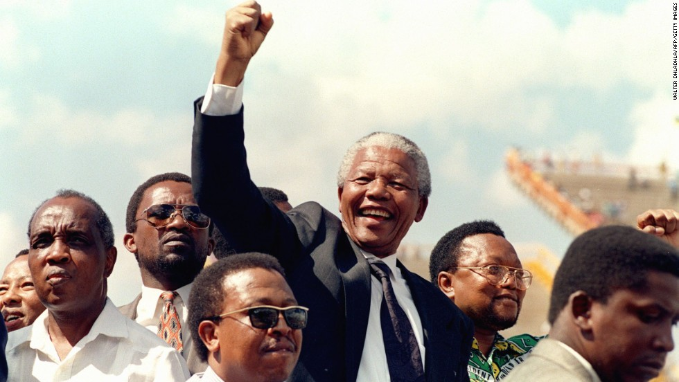 "<a href=""http://www.cnn.com/2013/12/05/world/africa/nelson-mandela/index.html"">Nelson Mandela</a>, the prisoner-turned-president who reconciled South Africa after the end of apartheid, died on December 5, according to the country's president, Jacob Zuma. Mandela was 95."