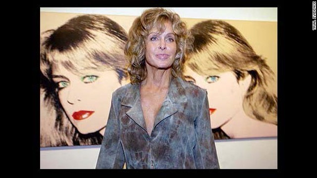 Farrah Fawcett appeared with both portraits at the Warhol Museum in Pittsburgh.