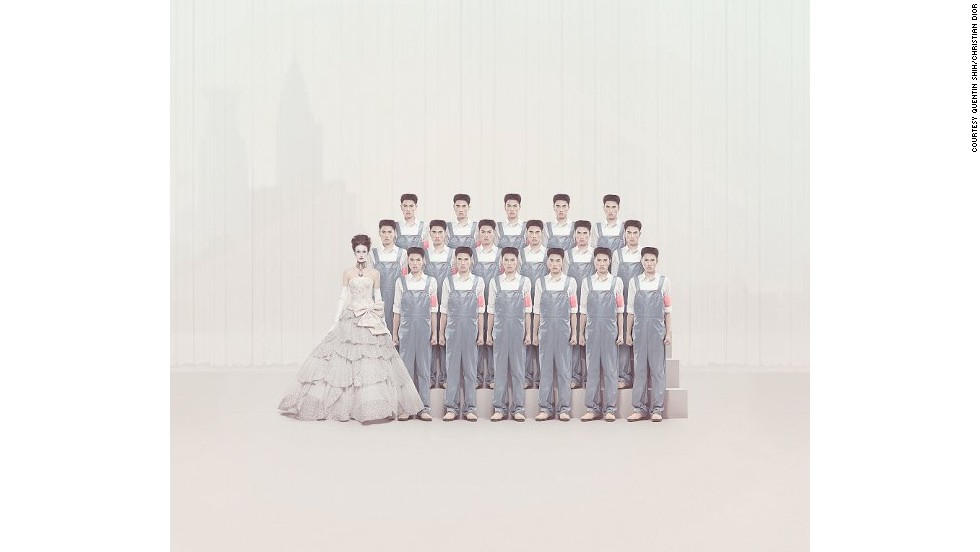 In 2008 Christian Dior put on an exhibition at the Ullens Center for Contemporary Art in Beijing entitled <em>Christian Dior and the Chinese Artists. </em>One-of-a-kind couture pieces were featured alongside specially commissioned work by leading Chinese contemporary artists, among which was this photo by Quentin Shih, from his Shanghai Dreamers series.