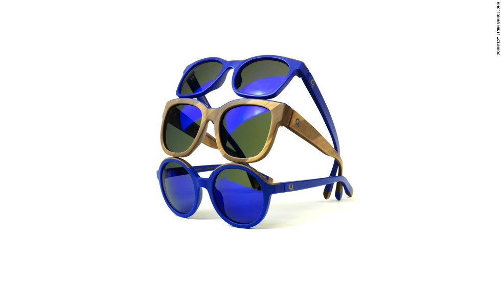 Art and fashion are the coziest of bedfellows at Art Basel Miami Beach this year. Spanish eyewear firm Etnia Barcelona dug through Yves Klein's archives and dreamed up these stylish shades, while YBA star Tracy Emin sold a range of limted edition t-shirts and sandals in conjunction with her exhibition.