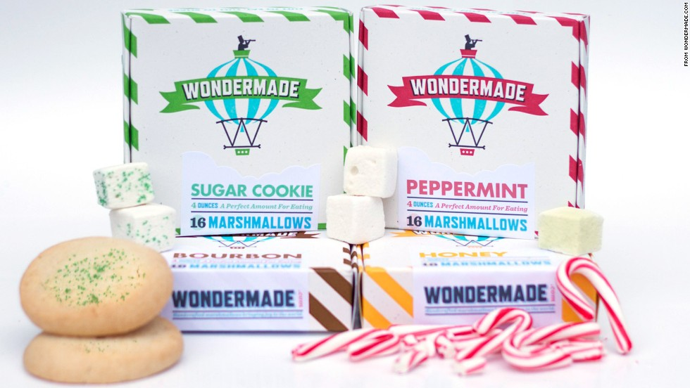 Wondermade Sugar Cookie, Peppermint, Bourbon and Honey Marshmallows -- $27