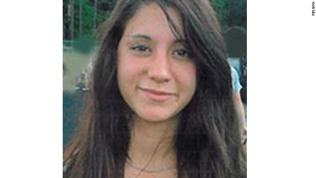 Photograph shows missing teen Abigail Hernandez. Shot date and location unspecified. Abigail was last seen October 9, 2013, from Conway, New Hamphsire, near Kennett High School, the FBI says.