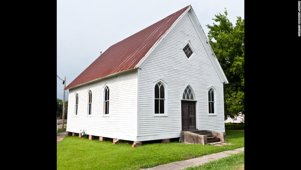 "<a href=""http://pableaux.com/"" target=""_blank"">Pableaux Johnson</a> converted this 1,400-square-foot Methodist church built in 1904 into a loft home. The church in St. Martinville, Louisiana, was on the brink of being torn down when Johnson bought it."