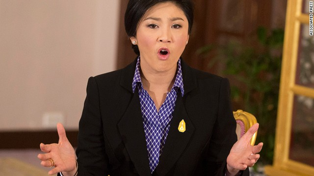 Protesters say Prime Minister Yingluck Shinawatra's government is influenced by her brother, the former PM.