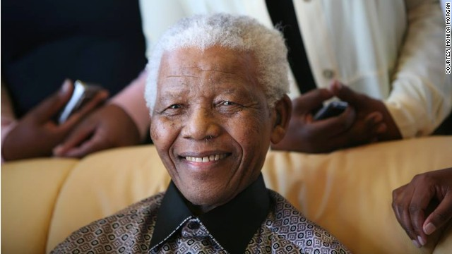 Former South African President Nelson Mandela, during his retirement in 1999