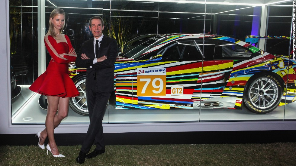 This year brands including Swarovski and Dom Pérignon hosted events during Art Basel Miami Beach. On opening day, BMW hosted a gala in the Miami Beach Botanical Gardens. Supermodel Karolina Kurkova and artist Jeff Koons unveiled the  BMW Art Car, which features Koons's colorful design.