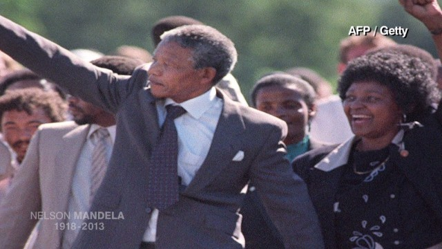 Mandela through the years