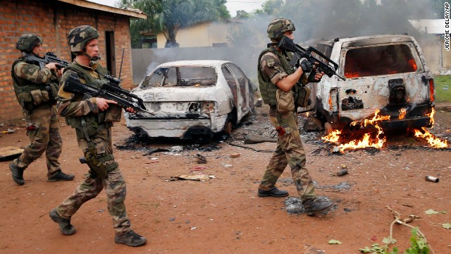 Chaos in Central African Republic