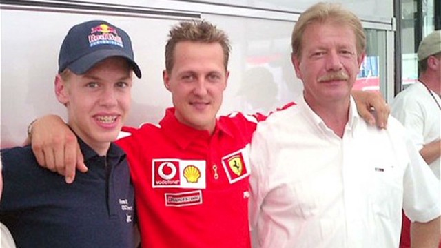 Mentoring Vettel and Schumacher