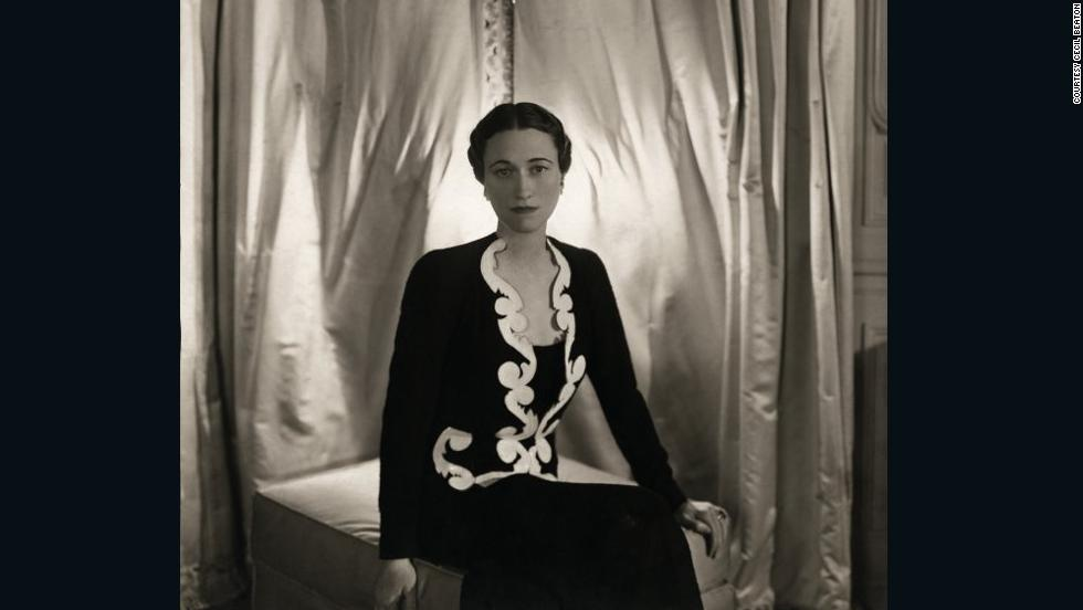 Some of the jewelry on sale belonged to the most beautiful and celebrated women of the 20th century, such as Wallis Simpson, pictured here in 1936 wearing ruby and diamond creole earclips by Van Cleef & Arpels.
