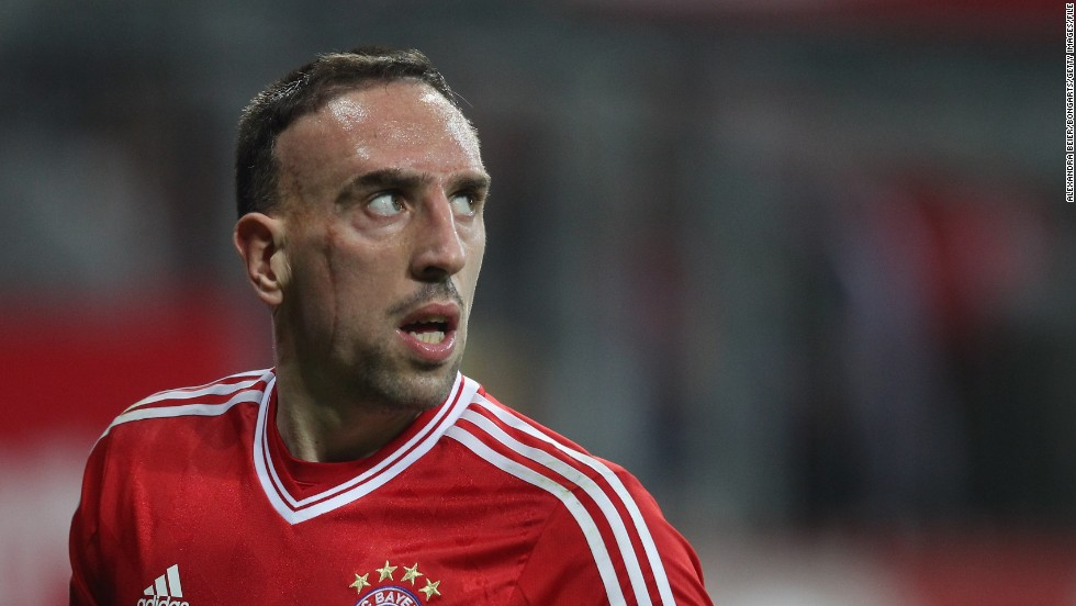 Bayern Munich won an historic treble in 2013, thanks in no small part to the dazzling form of Franck Ribery, who will also represent France at the 2014 World Cup.
