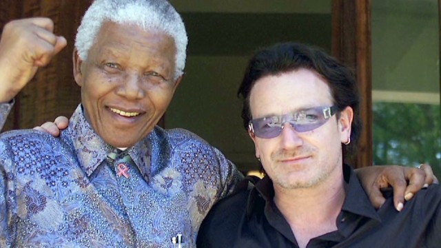 Bono: Mandela chose love over hate