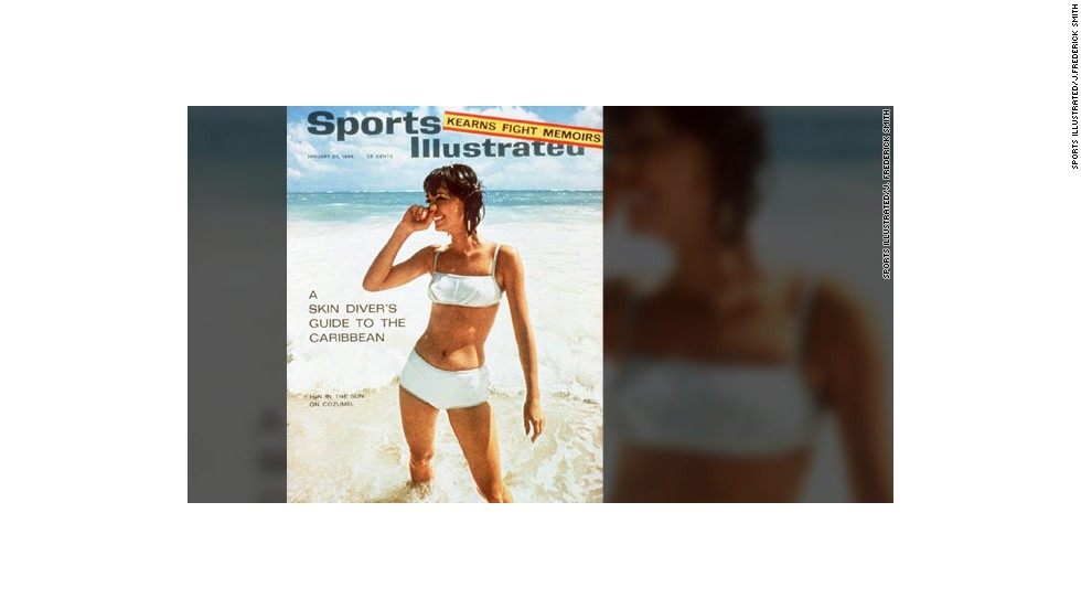 It is 50 years since Babette Beatty was the first model to grace the cover of Sports Illustrated's swimsuit issue, following a photo shoot in Mexico.