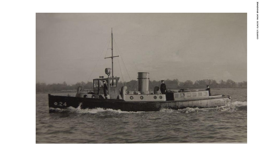 The 63ft Pinnace performed many duties for the RAF Marine Craft fleet, from the recovery of torpedoes and sea survival exercises for aircrew.