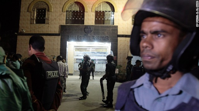 Central Jail, where Abdul Quader Mollah is being held in Dhaka, Bangladesh, is shown Tuesday.