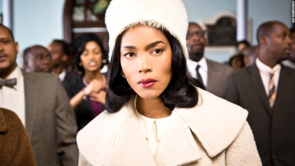 "<strong>Outstanding female actor in a TV movie or miniseries: Angela Bassett</strong> ""Betty & Coretta"" (pictured); <strong>Helena Bonham Carter </strong>""Burton and Taylor;"" <strong>Holly Hunter </strong>""Top of the Lake;"" <strong>Helen Mirren </strong>""Phil Spector;"" <strong>Elisabeth Moss </strong>""Top of the Lake."""