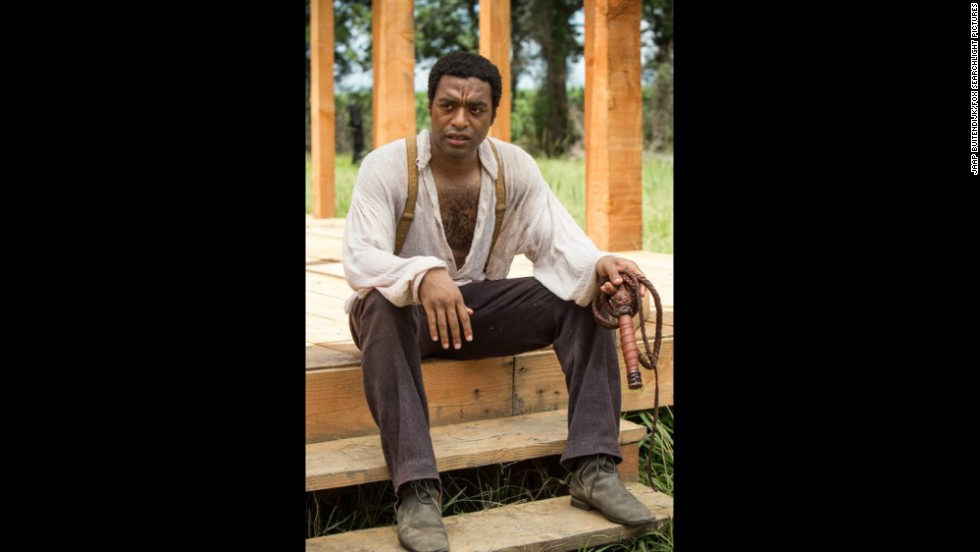 "<strong>Outstanding performance by a male actor in a leading role:</strong> <strong>Chiwetel Ejiofor</strong> ""12 Years a Slave"" (pictured); <strong>Tom Hanks</strong> ""Captain Phillips;"" <strong>Matthew McConaughey </strong>""Dallas Buyers Club;"" <strong>Bruce Dern </strong>""Nebraska;"" <strong>Forest Whitaker</strong> ""Lee Daniels' The Butler."""