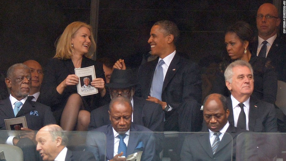 Entente cordiale? Obama and Thorning-Schmidt continue their mission to improve transatlantic relations.