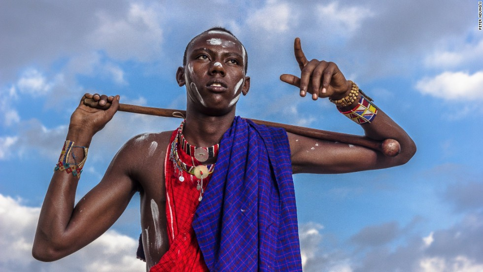 "Peter Ndung'u said of his photo: ""Every Kenyan can relate to a Maasai as being part of the Kenyan cultural groups and traditions. Local tourists and international tourists are familiar with them and their popular dance that involves high jumps. They, in my opinion, form a strong part of the culture of our national heritage."""