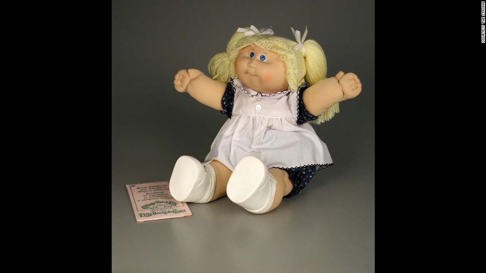 Cabbage Patch Doll by Coleco Industries (now Jakks Pacific) in 1983. Created by a 21-year-old art student named Xavier Roberts, Cabbage Patch Kids began as handcrafted cloth dolls available in gift shops in the South. During the 1983 Christmas season, parents swarmed toy stores for these dolls, and by New Year's Day, more than 3 million had been sold.