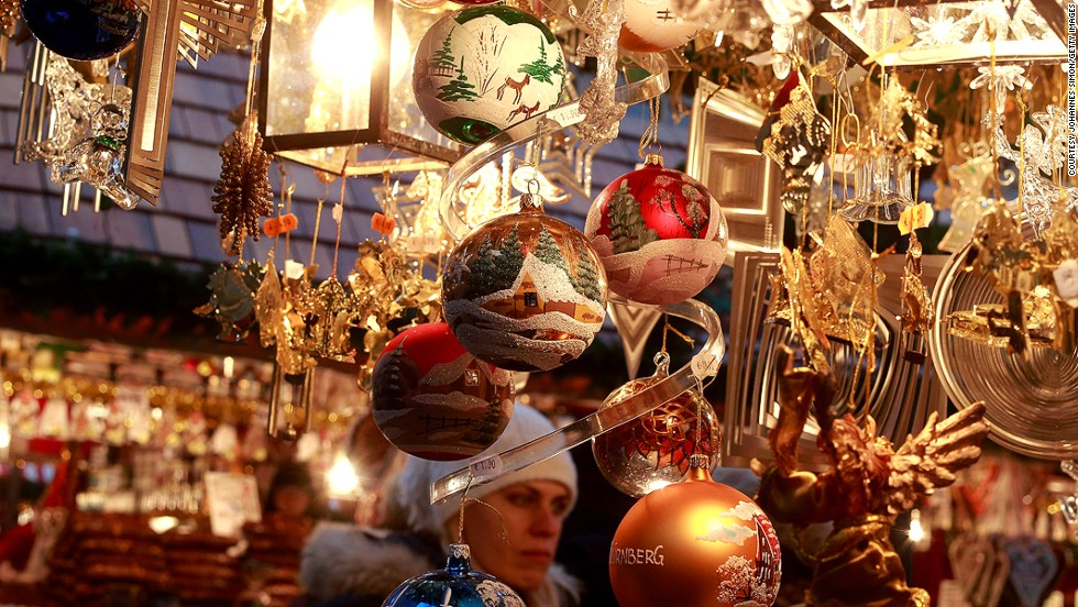 Nuremberg's Christmas Market Council is serious about making sure only traditional handmade toys and holiday goods are sold. No mass-produced plastic garlands here.
