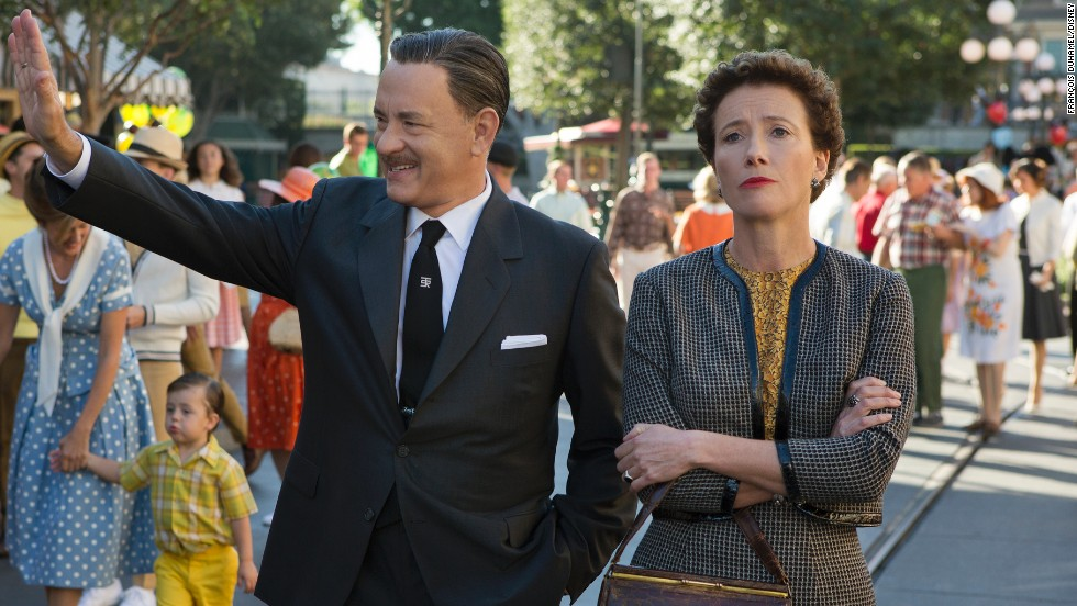 "Nominadas a mejor actriz - drama: Emma Thompson en ""Saving Mr. Banks"" (foto), Cate Blanchett en ""Blue Jasmine,"" Sandra Bullock en ""Gravity,"" Judi Dench en ""Philomena"" y Kate Winslet en ""Labor Day."""