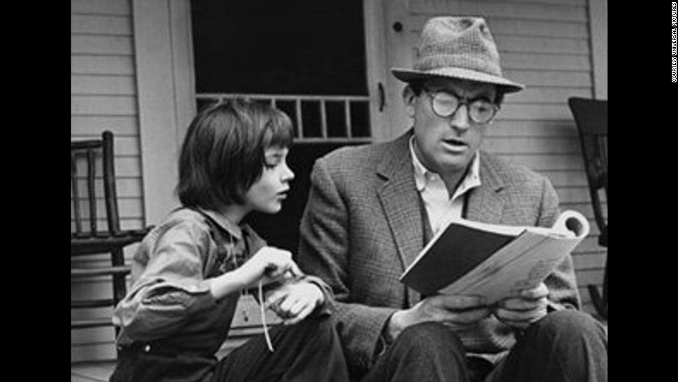 "<strong>""To Kill a Mockingbird"":</strong> Harper Lee's only novel, a huge best-seller, won the 1960 Pulitzer Prize for fiction. The story, told through the eyes of a child, is about race and justice in Depression-era Alabama, and lawyer Atticus Finch -- the narrator's father -- has become a model for a righteous, soft-spoken hero. The 1962 film is equally beloved and earned Gregory Peck an Oscar for his performance as Atticus."