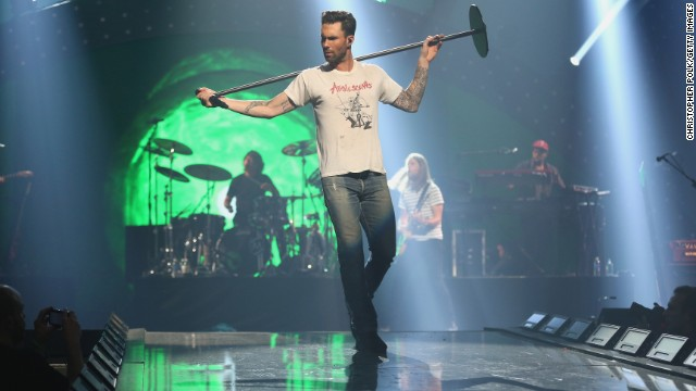 Maroon 5 frontman Adam Levine is one of the celebrities involved in a new Obamacare campaign.